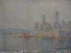 antibes de turme (after paul signac)