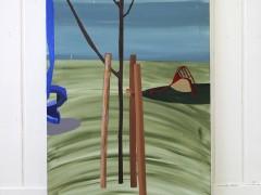 Poles, slides and tree (2015 Series)
