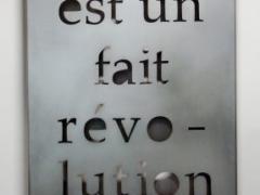 Exhibition: Pour qui...les honneurs