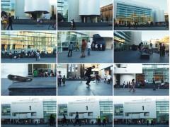 from the series Skateboarding at Museu d'Art Contemporani de Barcelona, 2008