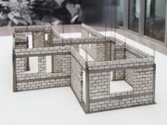 1: 27,78. 2015, Concrete, mortar, steel, 145 x 114 x 120 cm