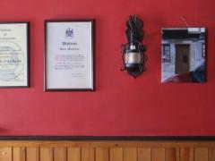 Vista de exposición Usted esta aquí, instalación en tiendas de la ciudad de Guimaraes, 2012 -13