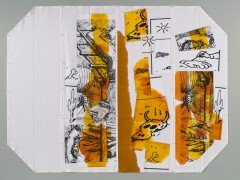 Where Everything is Twice. Airmail Painting No. 173, 2007