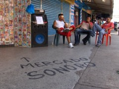 Sancocho en el Mercado - Durational Project (120 young artists were invited to live into a museum for 3 days). Museum of Comtemporary Art Mateo Manaure. Monagas Venezuela.