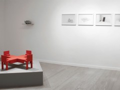 Structure over structure at La Central Gallery, 2012 (exhibition view)