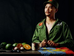 Bruce Yonemoto, Boy Peeling a Fruit, 2010