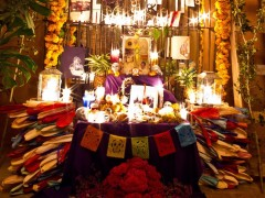 Day of the Dead Altar by Tia Parker