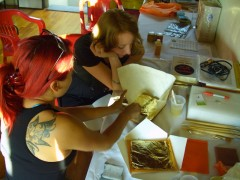 Instructional Residency - Gold Leafing