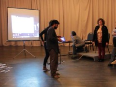 Workshop Staging at Teatro Cerventes