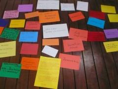 Workshop at Fundacion Union