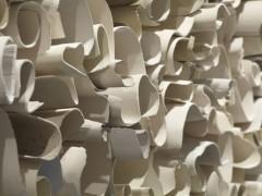 CMemoria (Memory), 2013. Ceramic installation of 130 elements. Courtesy of the artistarol Young (b. 1952).