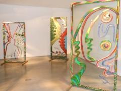 Exposición Marta Minujin en la galería