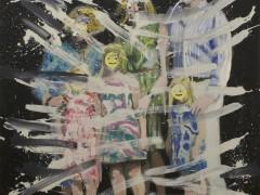 Happy Family 2013 Oleo sobre lienzo 162x130cm