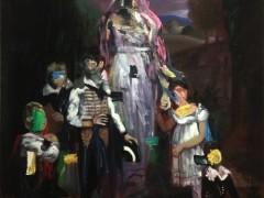 Familia 1 2013 Oleo sobre lienzo 180x130cm