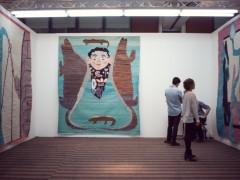 Alain Gutharc (Paris). Work by Yann Gerstberger.