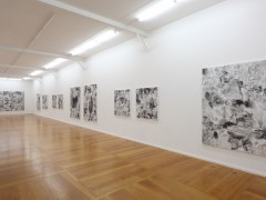 Exhibition View  « Paysages - Oeuvres récentes »