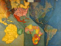 Juan Downey, Mapa Mundi, 1979.