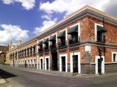 Fachada del Museo Amparo