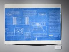 Serie Blue-print: Blaupunkt. Sesenta y dos hora de viaje, cincuenta y nueve años en el sur.