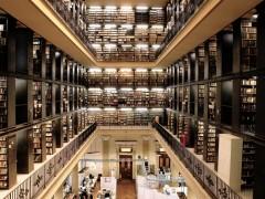 El almacén de libros, Salas de Lectura