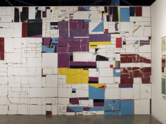 Unfolded Architecture (Monochromatic Muralism), 2012