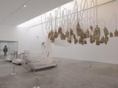 Exhibition view Rafael Lozano-Hemmer - Pseudomatismos - 2015/2016