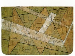 Nazca, 1987. Cork on chipboard