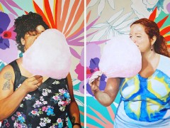 Cotton Candy Collage