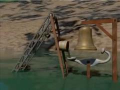 ... Le poète a écouté la rivière prier / dans un langage silencieux / qu'il a traduit par une structure de bois et d'acier / avec une gorge de bronze d'une hauteur de deux mètres / Rimaq Mayu / mayun taquishan / la rivière qui parle chante la condition humaine ... ... Il y a une poésie qui descend des hauteurs de Junín jusque sur les rives de l'océan Pacifique / sur les hauteurs une gorge s'est ouverte / une cloche qui n'arrêtera pas de sonner / Sainte Trinité qui élève philosophiquement son pouvoir, son intelligence et son amour / dans une cuve où se déverse sa propre force / les forces de la rivière se rencontrent pour déverser leur volonté purificatrice / dans le récipiant qui active le mécanisme / frappe la cloche de sa propre volonté ...